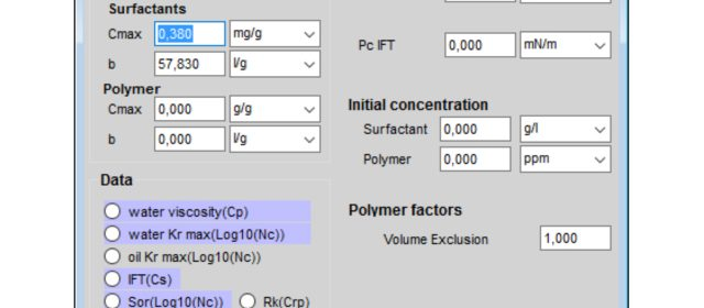 New in 2017: Two-Phase Flow with EOR capabilities