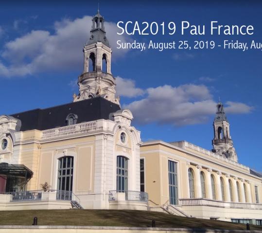 SCA 2019 -Pau, France